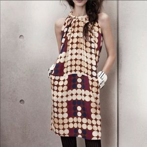 Marni for H&M Silk Circle Pattern Halter Dress